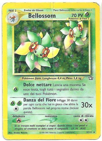 Bellossom Neo Genesis 3111 Rara Holo ITA HP Carte Pokémon