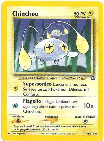Chinchou – Neo Genesis – 55111 – Carte Pokémon