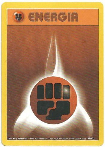 Energia Combattimento – Set Base – 97102 – Comune – Carte Pokémon