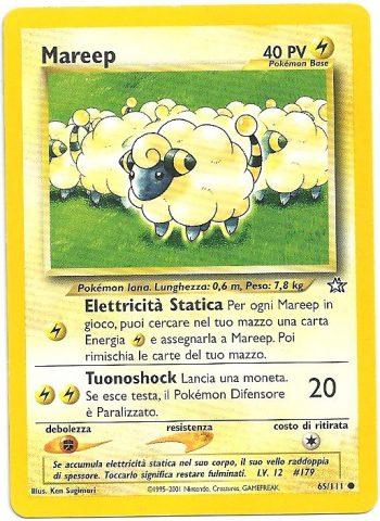 Mareep – Neo Genesis – 65111 – Carte Pokémon