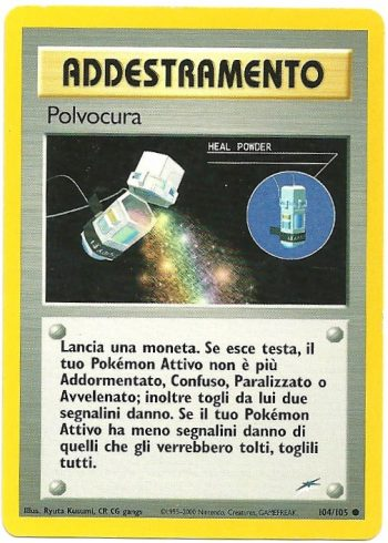Polvocura – Neo Destiny – 104105 – Comune – Carte Pokémon
