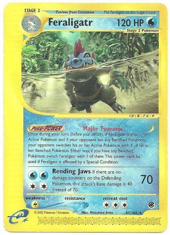 Feraligatr – Expedition – 47165 – Rara – Carte Pokémon