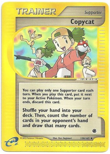 Copiona Expedition 138165 Non Comune Carte Pokémon