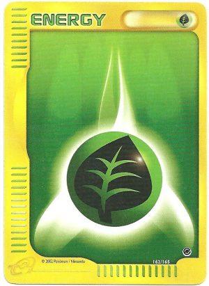 Energia Erba Expedition 162165 Comune Carte Pokémon