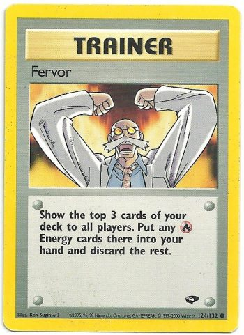 Fervor Gym Challenge 124132 Comune Carte Pokémon