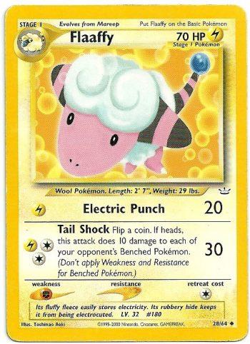 Flaffy Neo Revelation 2864 Non Comune Carte Pokémon