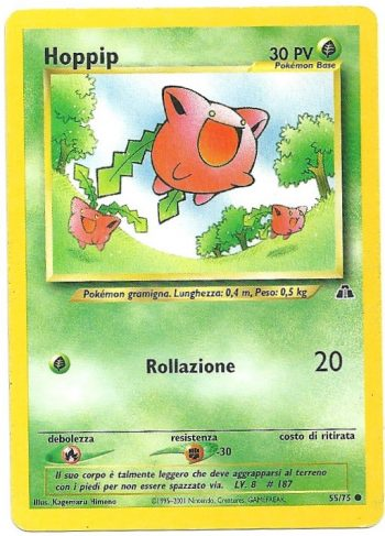 Hoppip Neo Discovery 5575 Comune Carte Pokémon