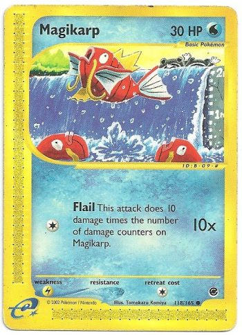 Magikarp Expedition 118165 Comune Carte Pokémon