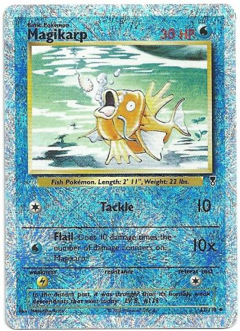 Magikarp Legendary Collection 52110 FOIL Non Comune Carte Pokémon