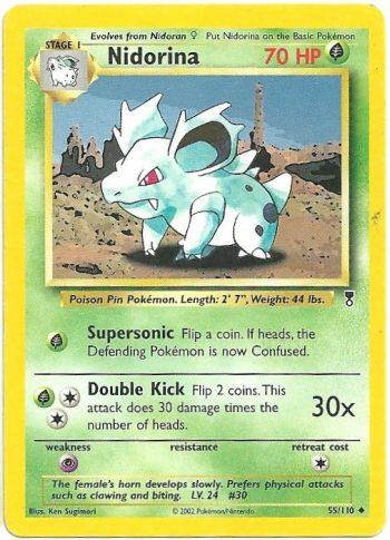 Nidorina Legendary Collection 55110 Non Comune Carte Pokémon