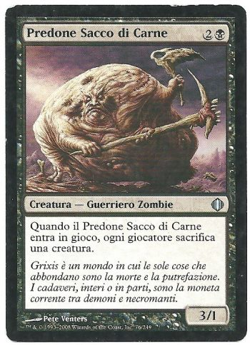 Predone Sacco di Carne ALA Non Comune Carte Magic The Gathering