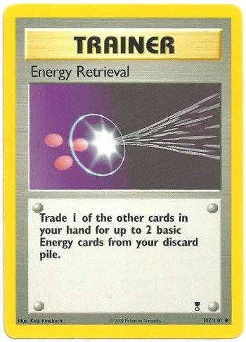 Recupero di Energia Legendary Collection 107110 Non Comune Carte Pokémon