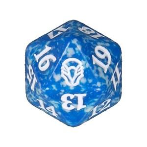 Dado D20 Blu Dominaria Accessori Magic The Gatering