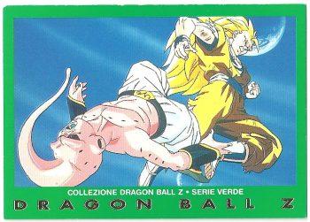 Bu Goku 90 Carte Collezione Dragon Ball Z Serie Verde