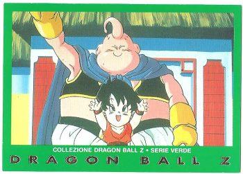 Bu Pan 98 Carte Collezione Dragon Ball Z Serie Verde