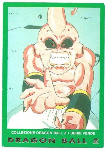 Bu originale 93 Carte Collezione Dragon Ball Z Serie Verde
