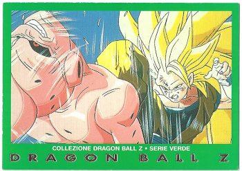 Bu originale Goku livello 3 88 Carte Collezione Dragon Ball Z Serie Verde