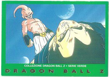 Bu originale Vegeta 86 Carte Collezione Dragon Ball Z Serie Verde