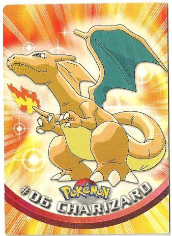 Charizard 06 Serie 1 Carte Pokémon TOPPS