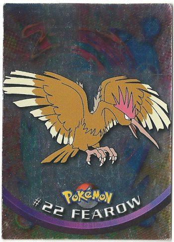 Fearow 22 Foil Serie 1 Carte Pokémon TOPPS