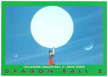 Goku 95 Carte Collezione Dragon Ball Z Serie Verde