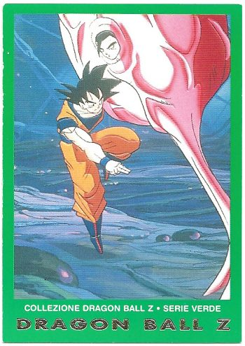 Goku Gohan 79 Carte Collezione Dragon Ball Z Serie Verde