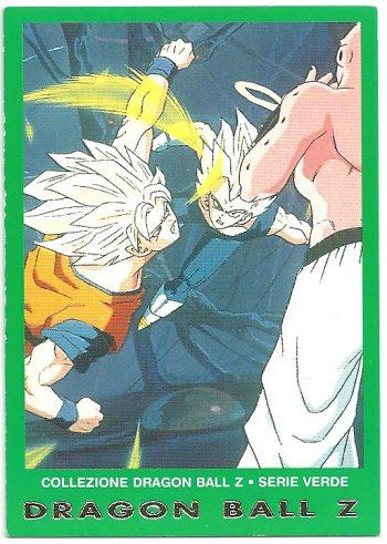 Goku Super Bu Vegeta 83 Carte Collezione Dragon Ball Z Serie Verde