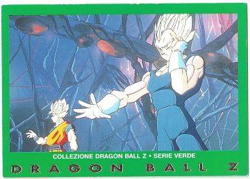 Goku Vegeta 69 Carte Collezione Dragon Ball Z Serie Verde