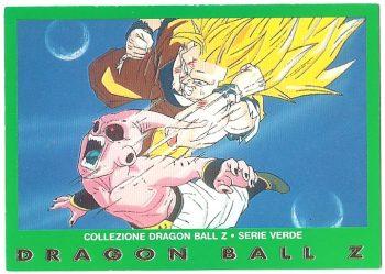 Goku livello 3 Bu originale 89 Carte Collezione Dragon Ball Z Serie Verde