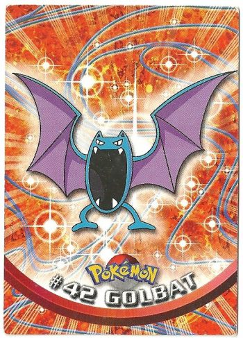 Golbat 42 Serie 1 Carte Pokémon TOPPS