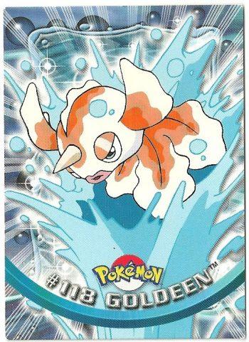 Goldeen 118 Serie 3 Carte Pokémon TOPPS