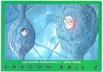 Goten Trunks 76 Carte Collezione Dragon Ball Z Serie Verde