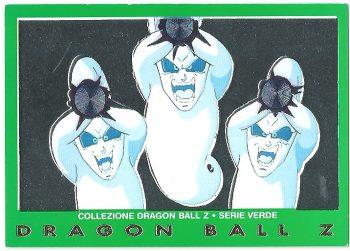 Kamikaze Ghost 39 Carte Collezione Dragon Ball Z Serie Verde