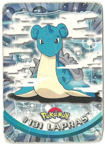 Lapras 131 Serie 3 Carte Pokémon TOPPS