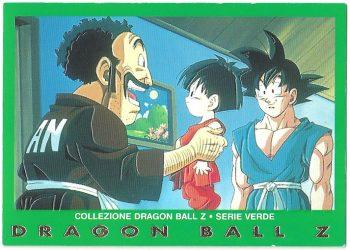 Mister Satan Pan Goku 97 Carte Collezione Dragon Ball Z Serie Verde