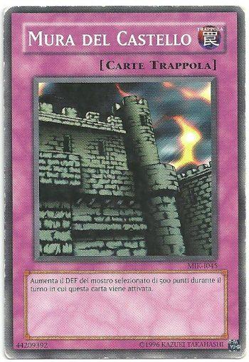 Mura del Castello MIK Comune Carte Yu Gi Oh