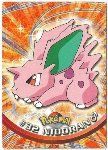 Nidoran 32 Serie 1 Carte Pokémon TOPPS