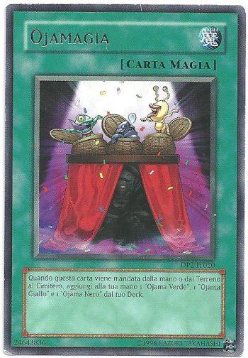 Ojamagia DP2 Rara Carte Yu Gi Oh