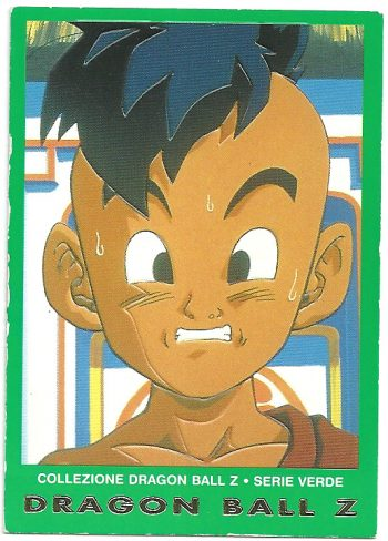 Oob 100 Carte Collezione Dragon Ball Z Serie Verde