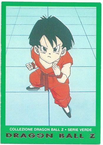 Pan 99 Carte Collezione Dragon Ball Z Serie Verde