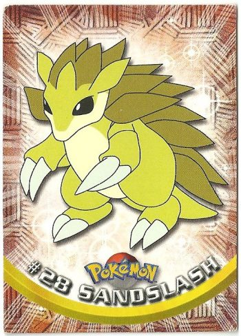 Sandslash 28 Serie 1 Carte Pokémon TOPPS
