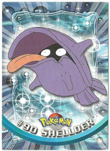 Shellder 90 Serie 2 Carte Pokémon TOPPS