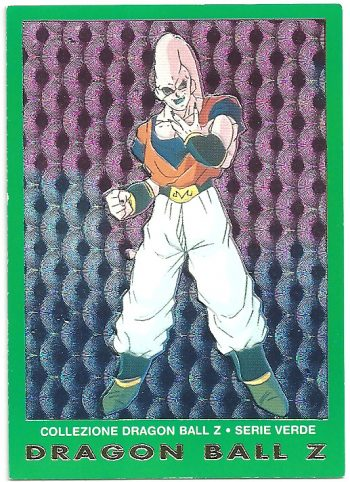 Super Bu 43 Carte Collezione Dragon Ball Z Serie Verde