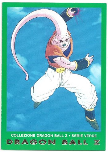 Super Bu 7 Carte Collezione Dragon Ball Z Serie Verde