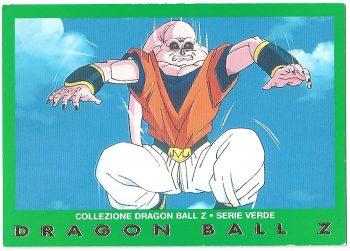 Super Bu 78 Carte Collezione Dragon Ball Z Serie Verde
