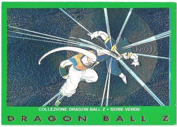 Super Bu Vegekou 11 Carte Collezione Dragon Ball Z Serie Verde