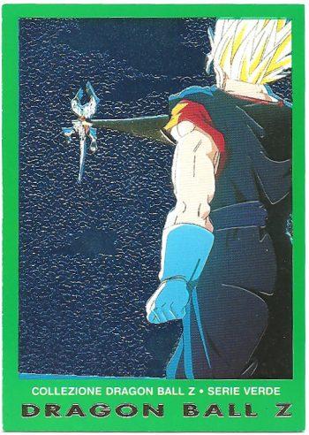 Super Bu Vegekou 33 Carte Collezione Dragon Ball Z Serie Verde