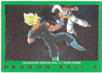 Super Bu Vegekou 49 Carte Collezione Dragon Ball Z Serie Verde