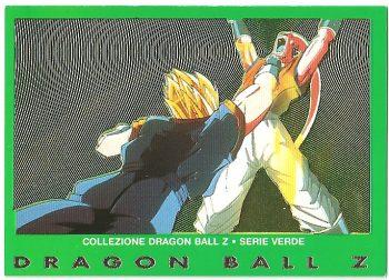 Super Bu Vegekou 50 Carte Collezione Dragon Ball Z Serie Verde