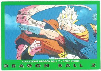 Super Bu Vegekou 51 Carte Collezione Dragon Ball Z Serie Verde